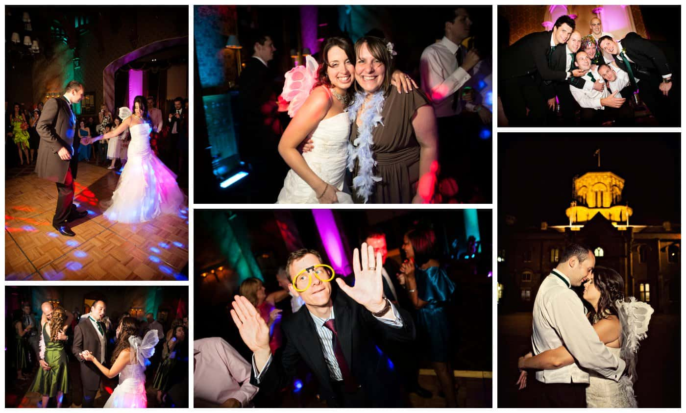 wedding at Studley Castle