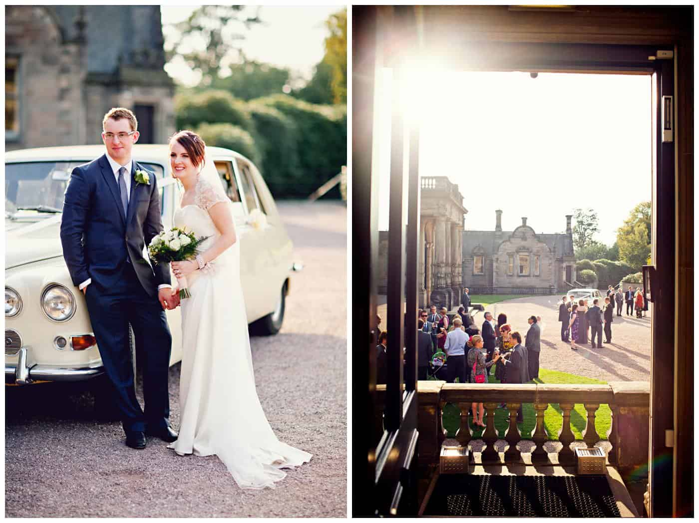 Sandon Hall Wedding pictures