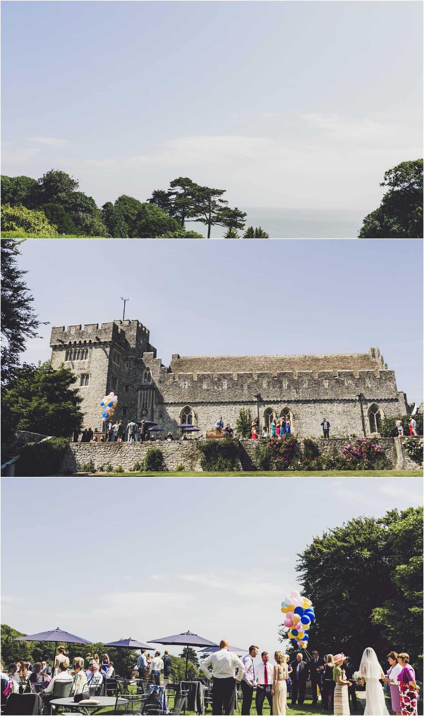 St Donat's Castle wedding pictures