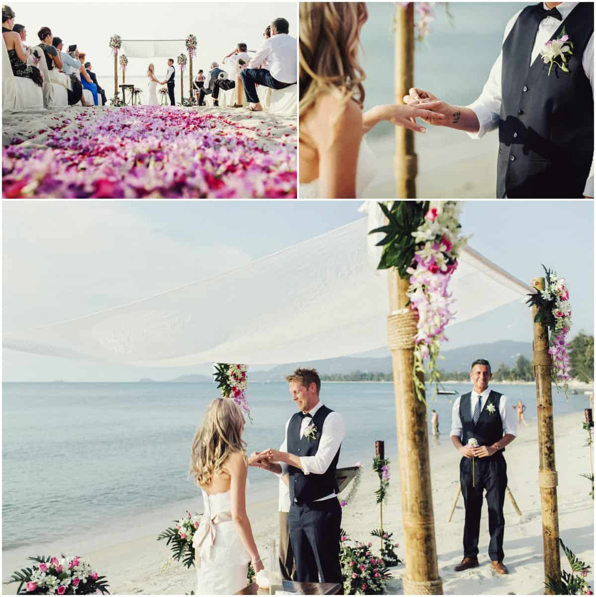 Faraway Villa Koh Samui beach wedding