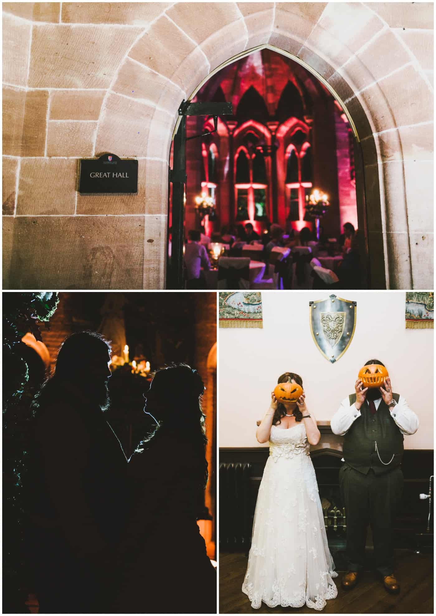 Peckforton Castle Halloween Wedding
