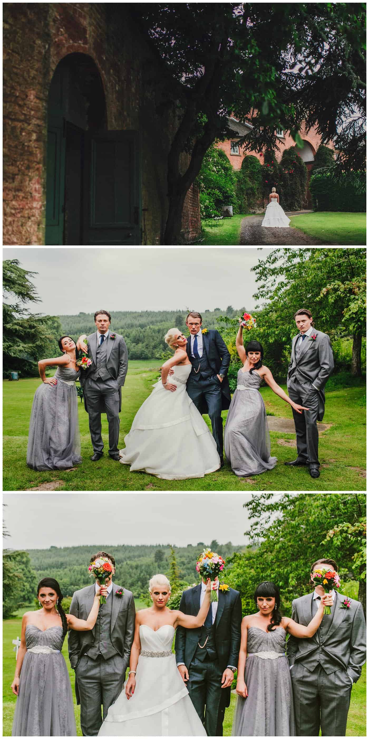 Quirky Walcot Hall Wedding Photos
