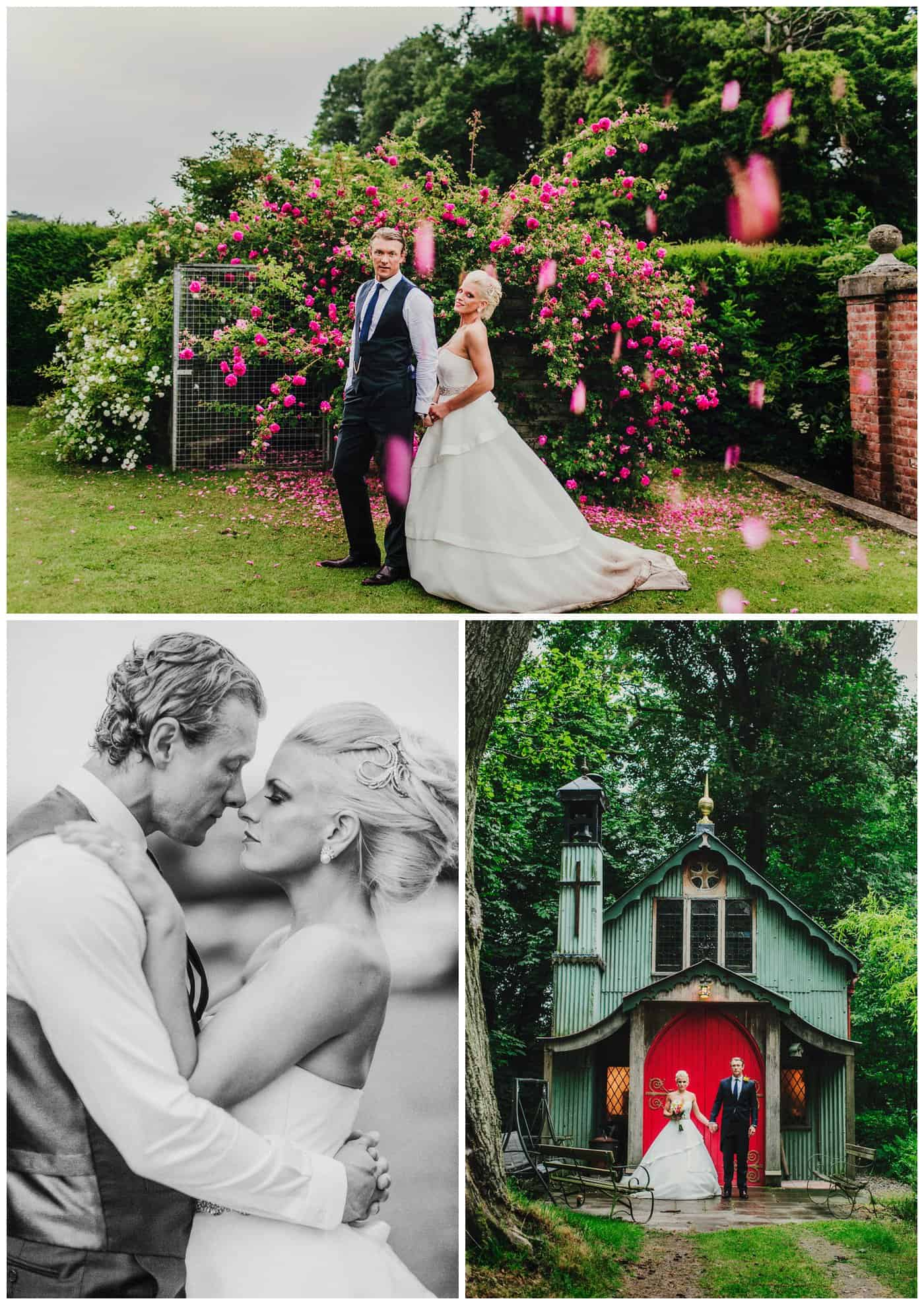 Alternative Walcot Hall Wedding Photos