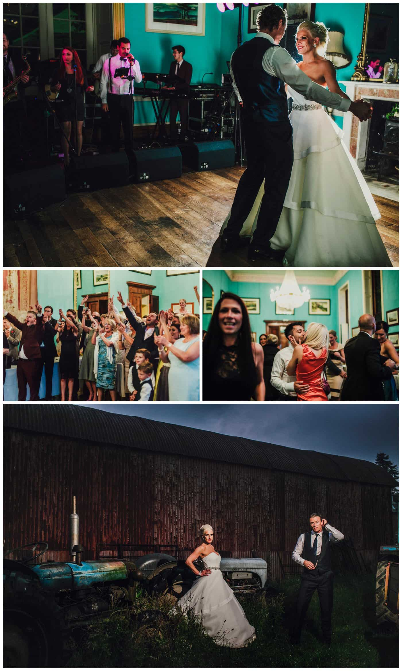 Quirky Walcot Hall Wedding Photographer