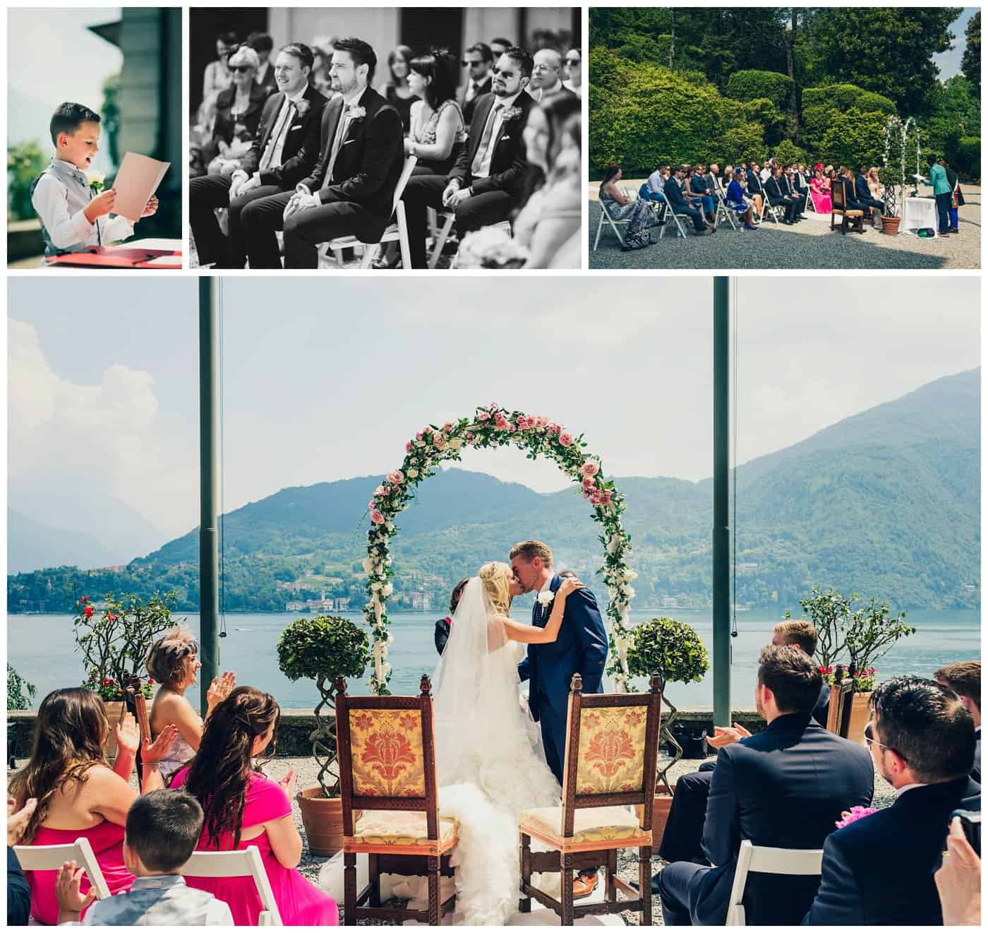 Villa Carlotta wedding photographer