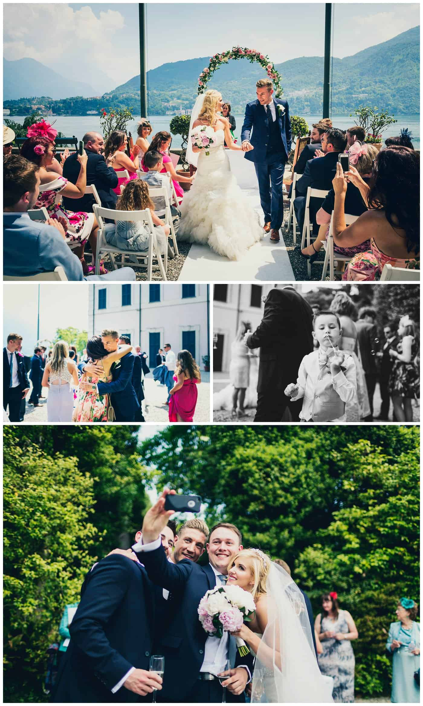Villa Carlotta wedding photographers