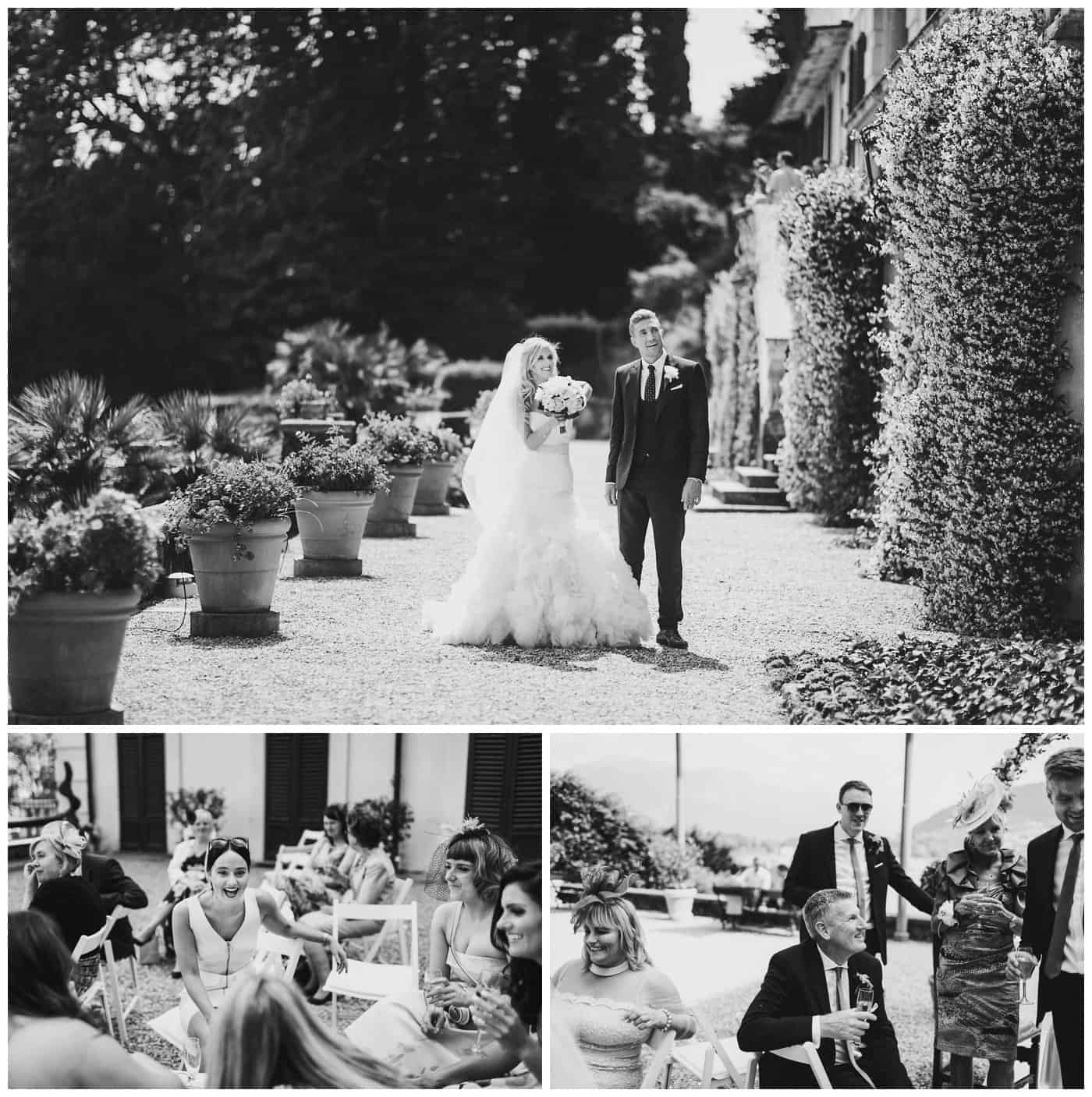 Villa Carlotta wedding photos
