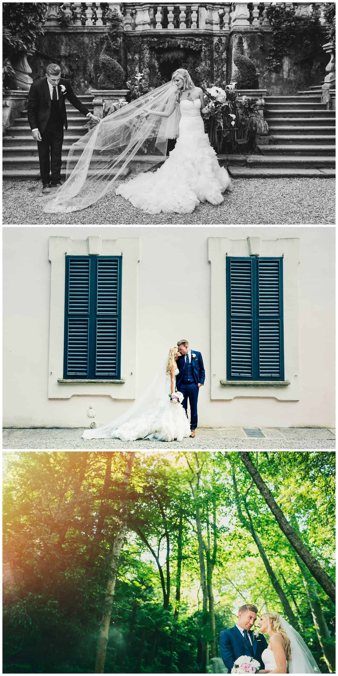 Villa Carlotta Como wedding photographers