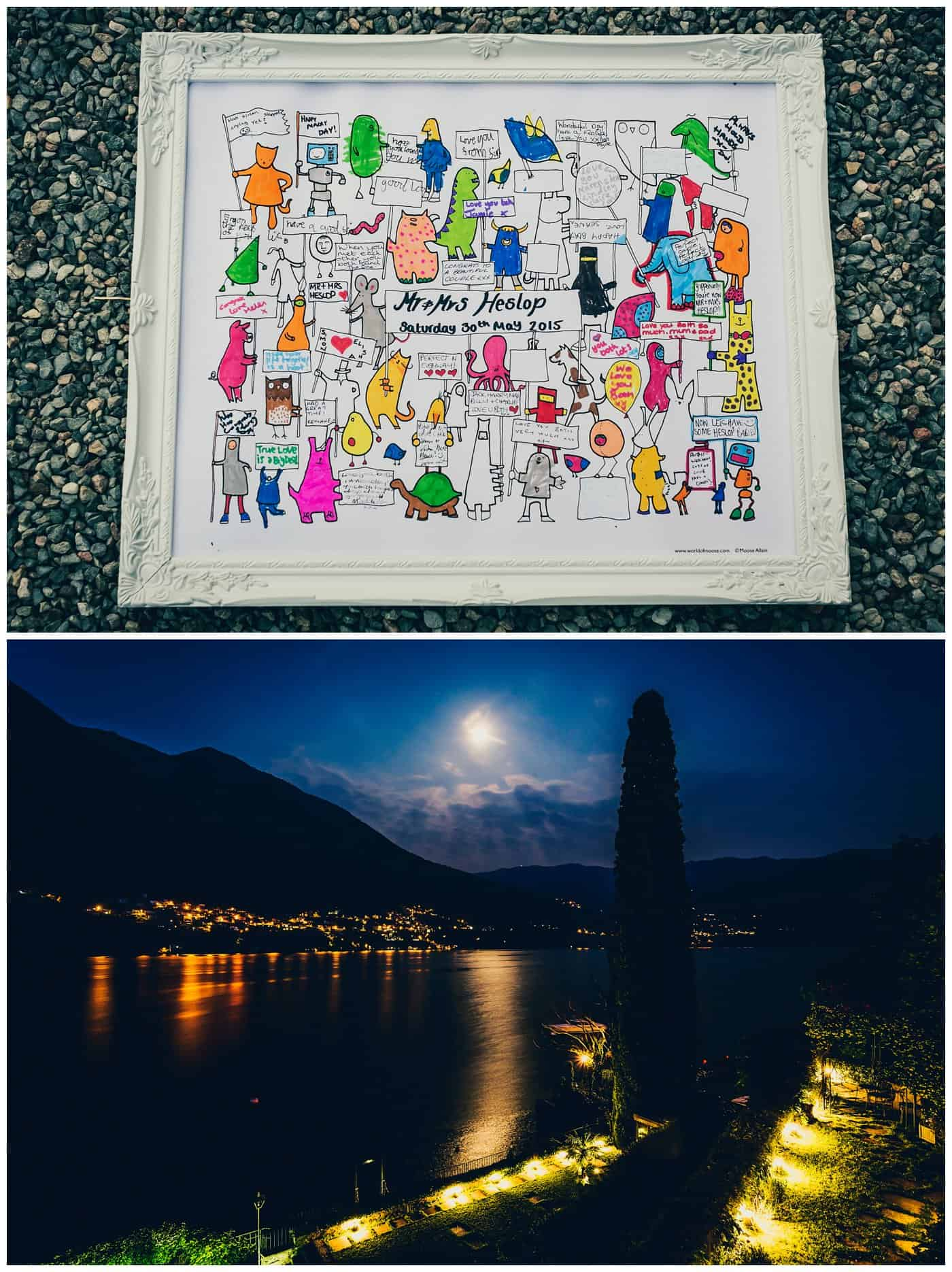 lake como night