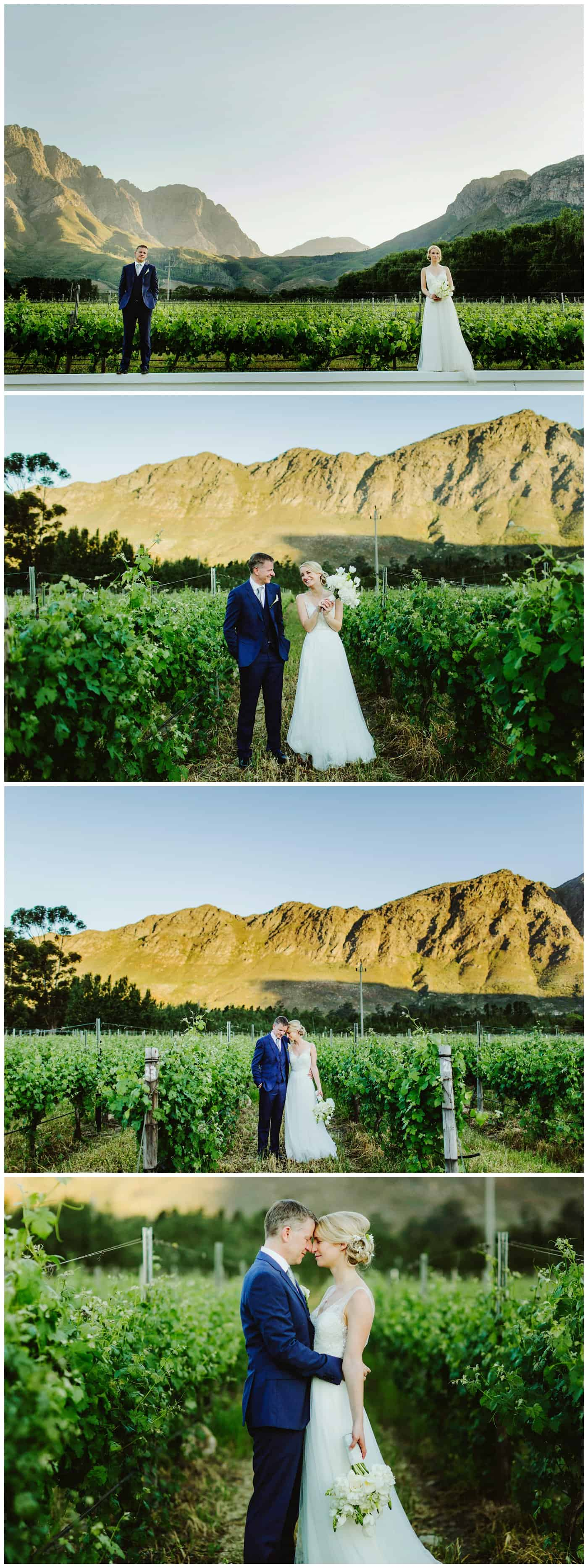 wedding photographer Franschhoek