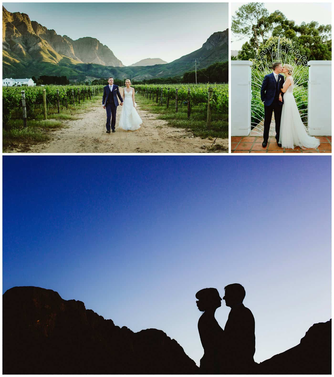 wedding photographers Franschhoek