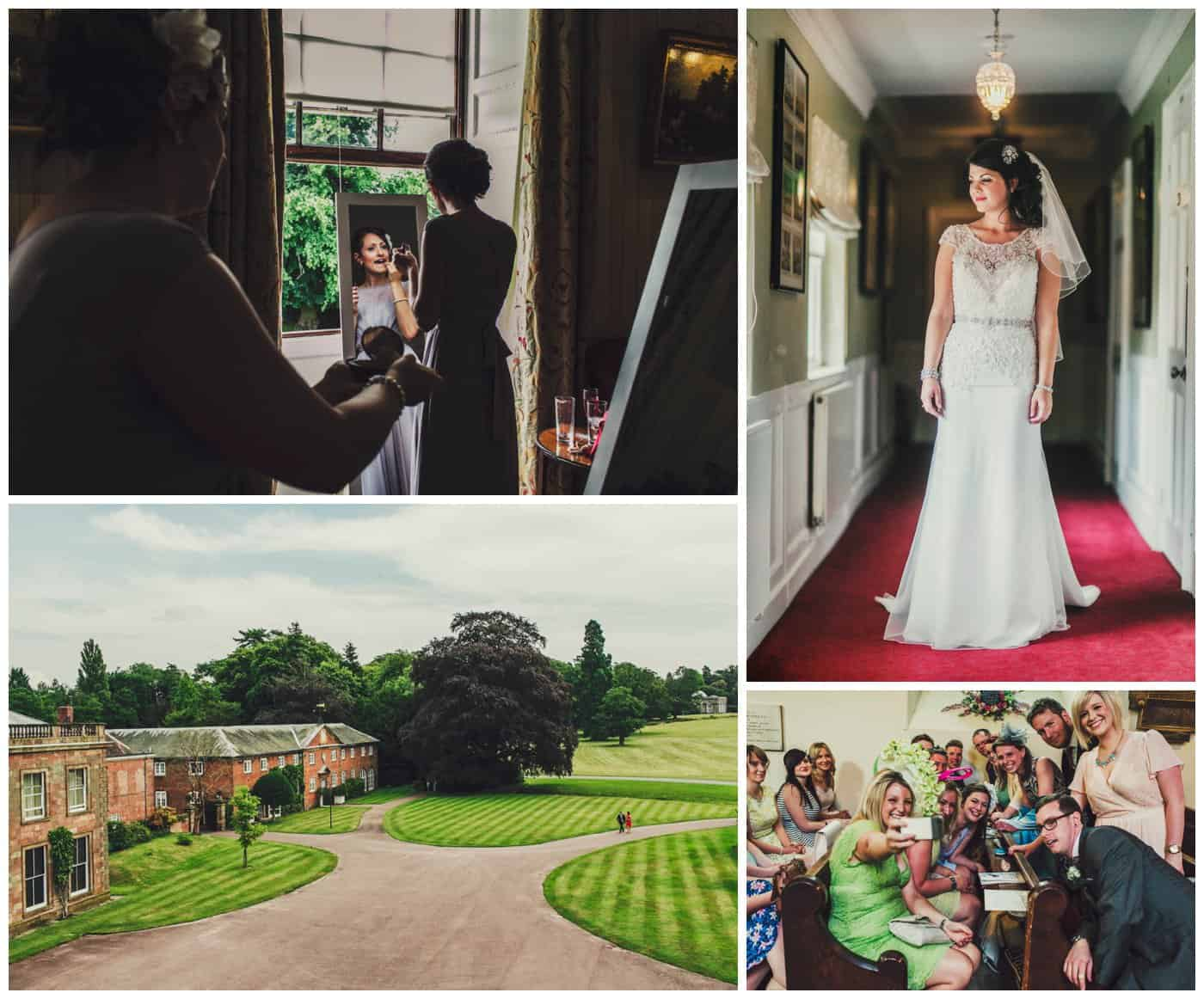 weston park wedding pictures