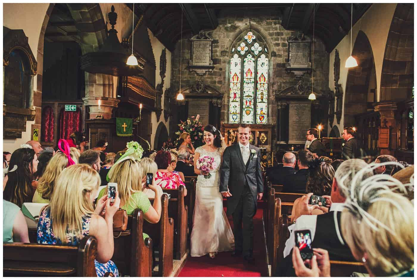 weston park church wedding