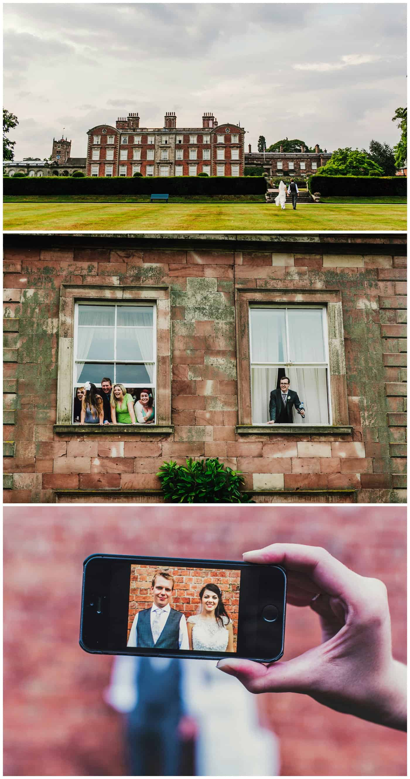 weston park wedding photographer