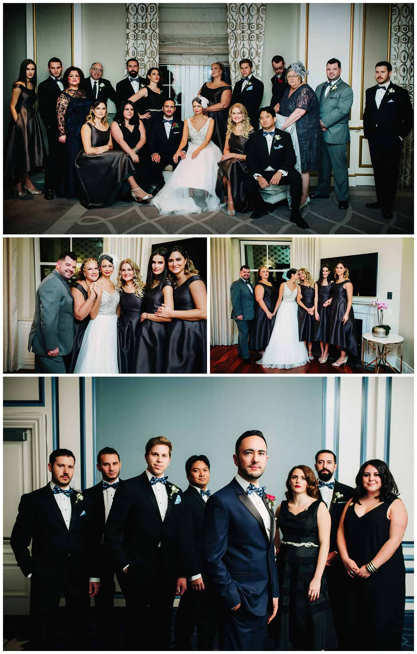 Ritz Carlton Wedding Photography Montreal