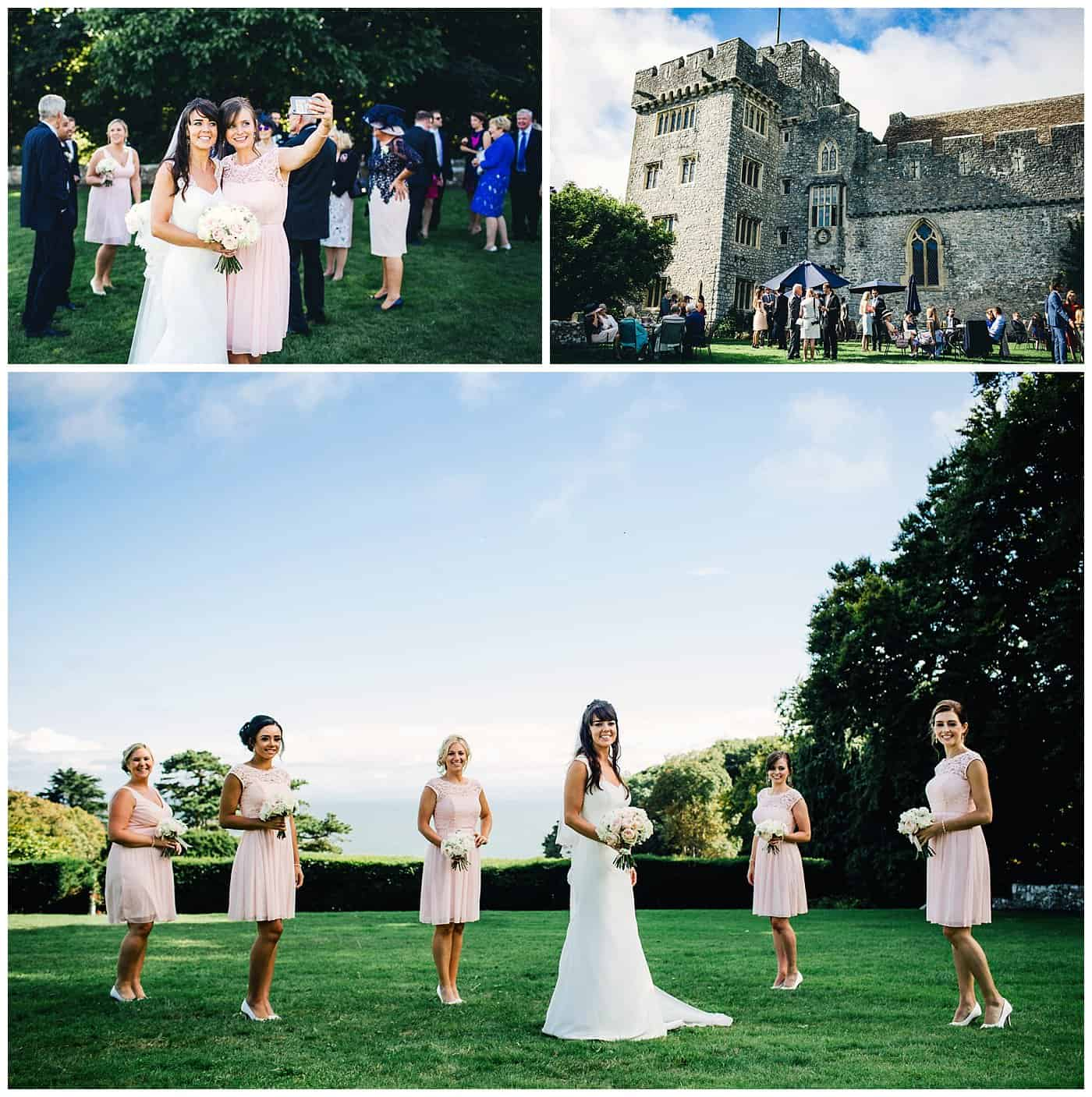 ST DONAT'S CASTLE WEDDING PHOTOGRAPHERS