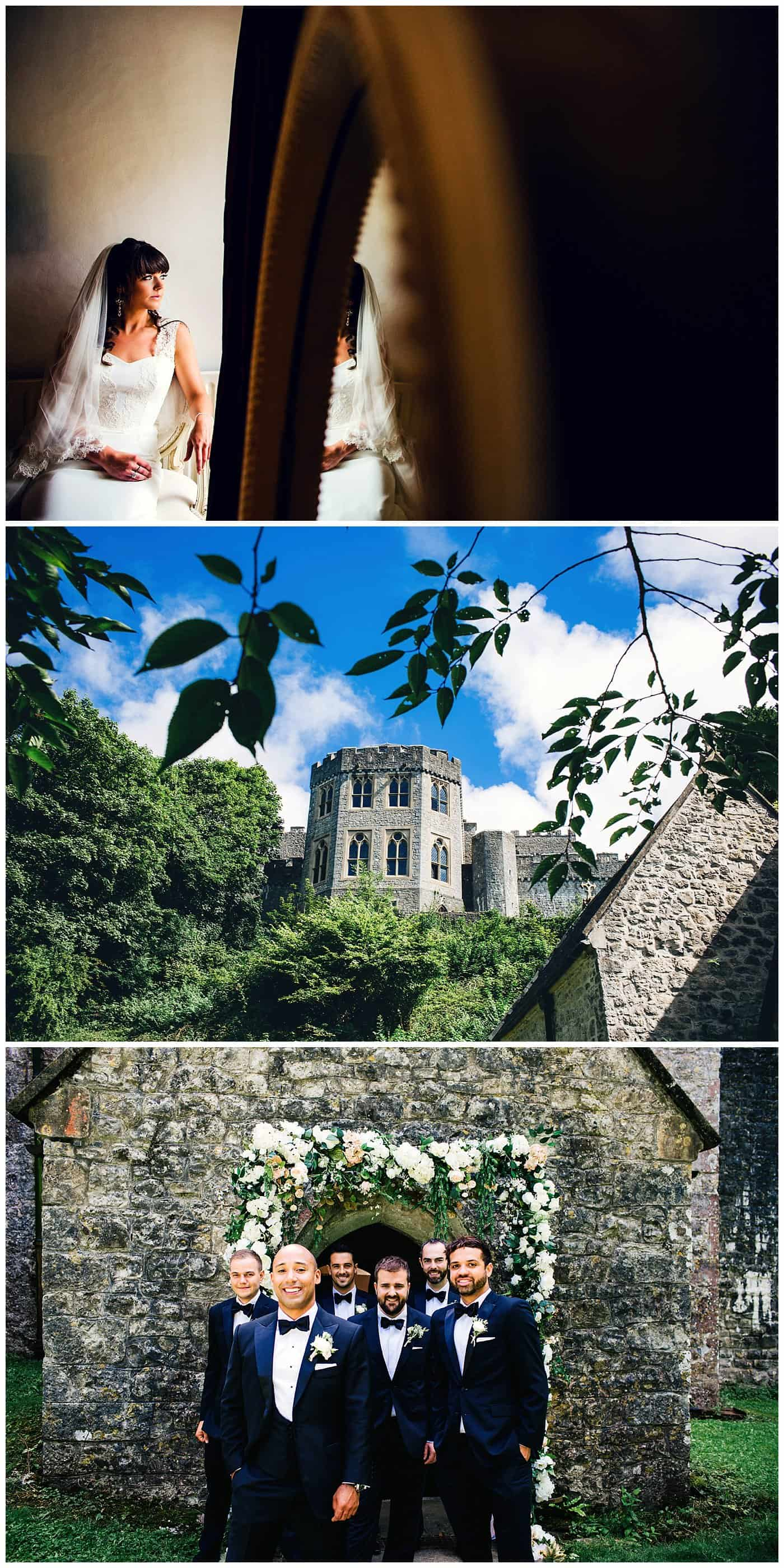 ST DONAT'S CASTLE WEDDING photos