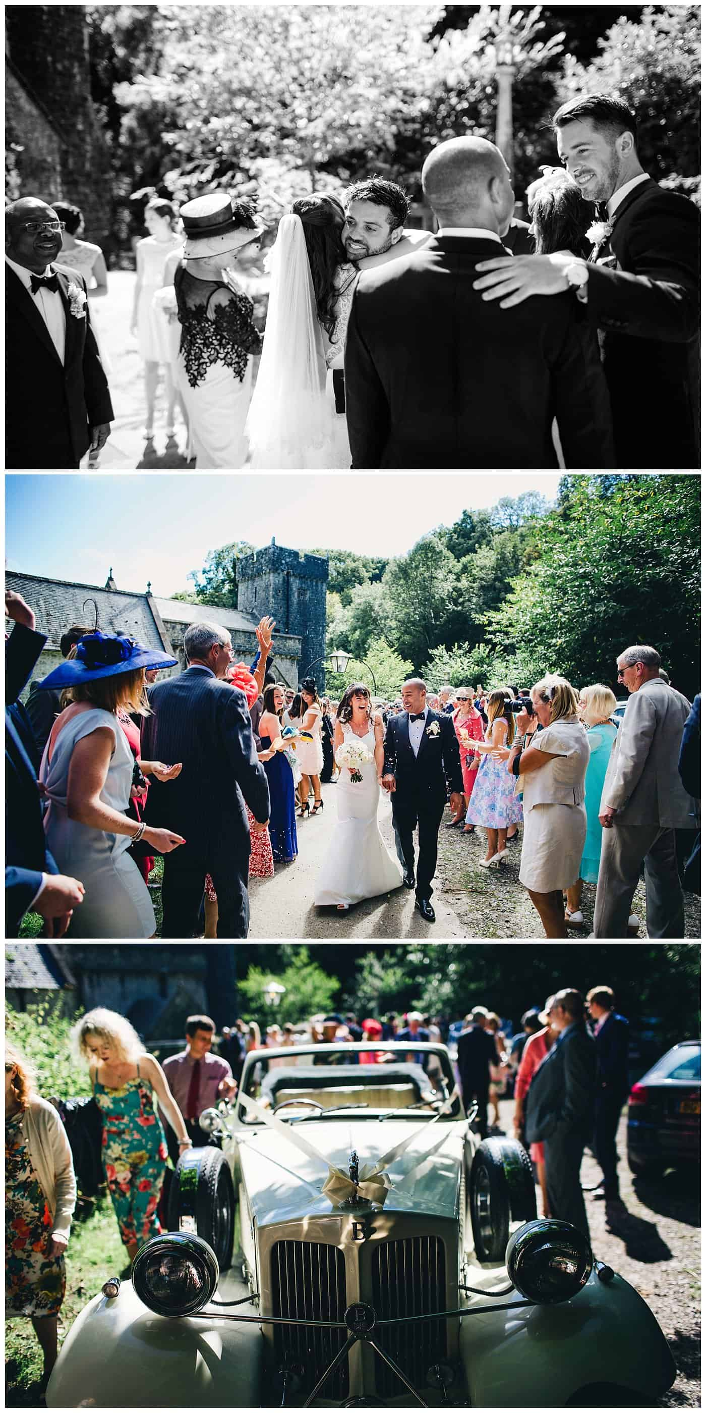 ST DONAT'S CASTLE WEDDING PICTURES