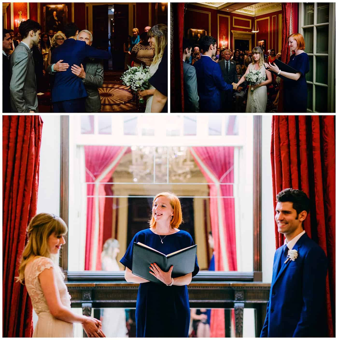 Wedding ceremony at RAC London