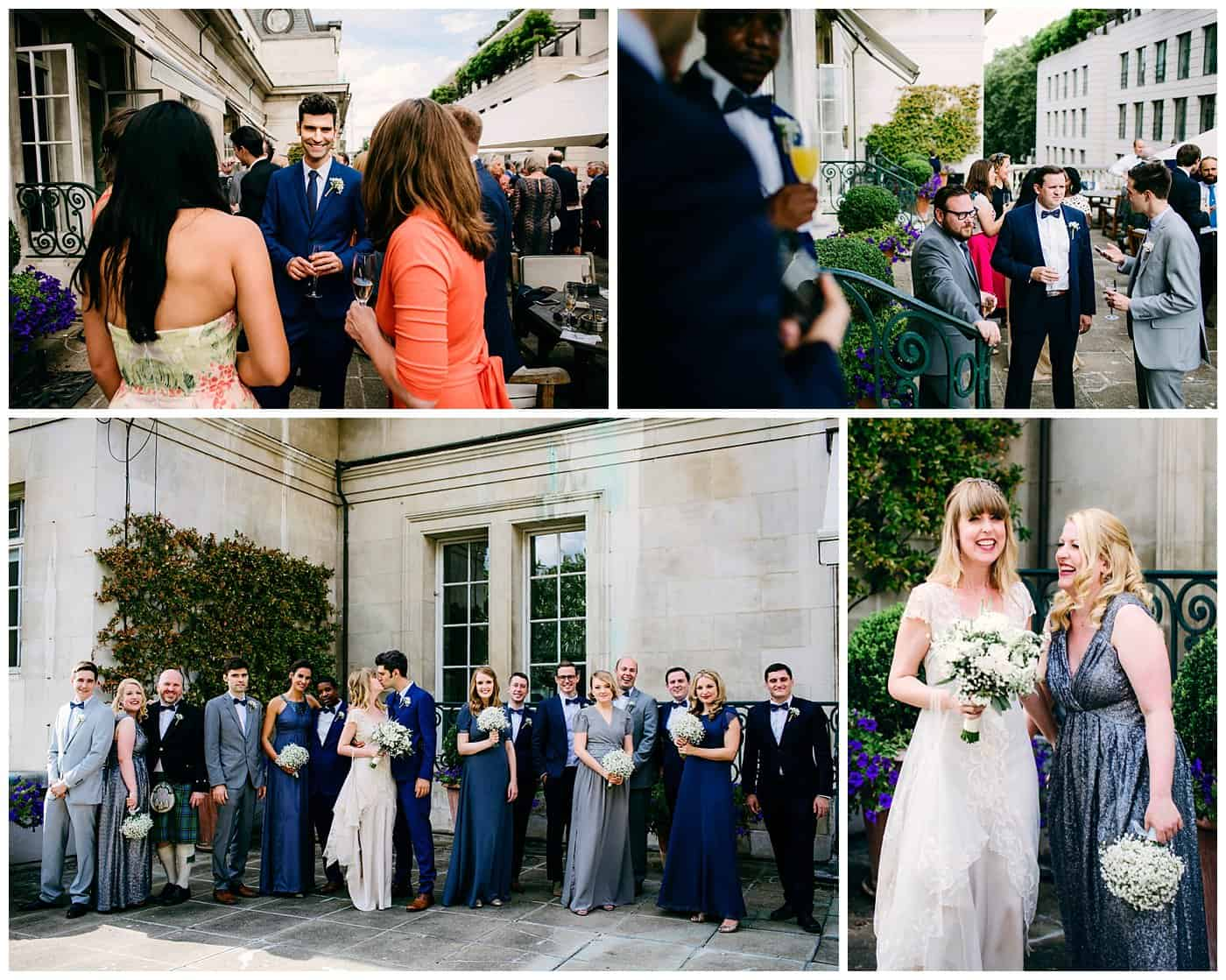 royal automobile club london wedding photos