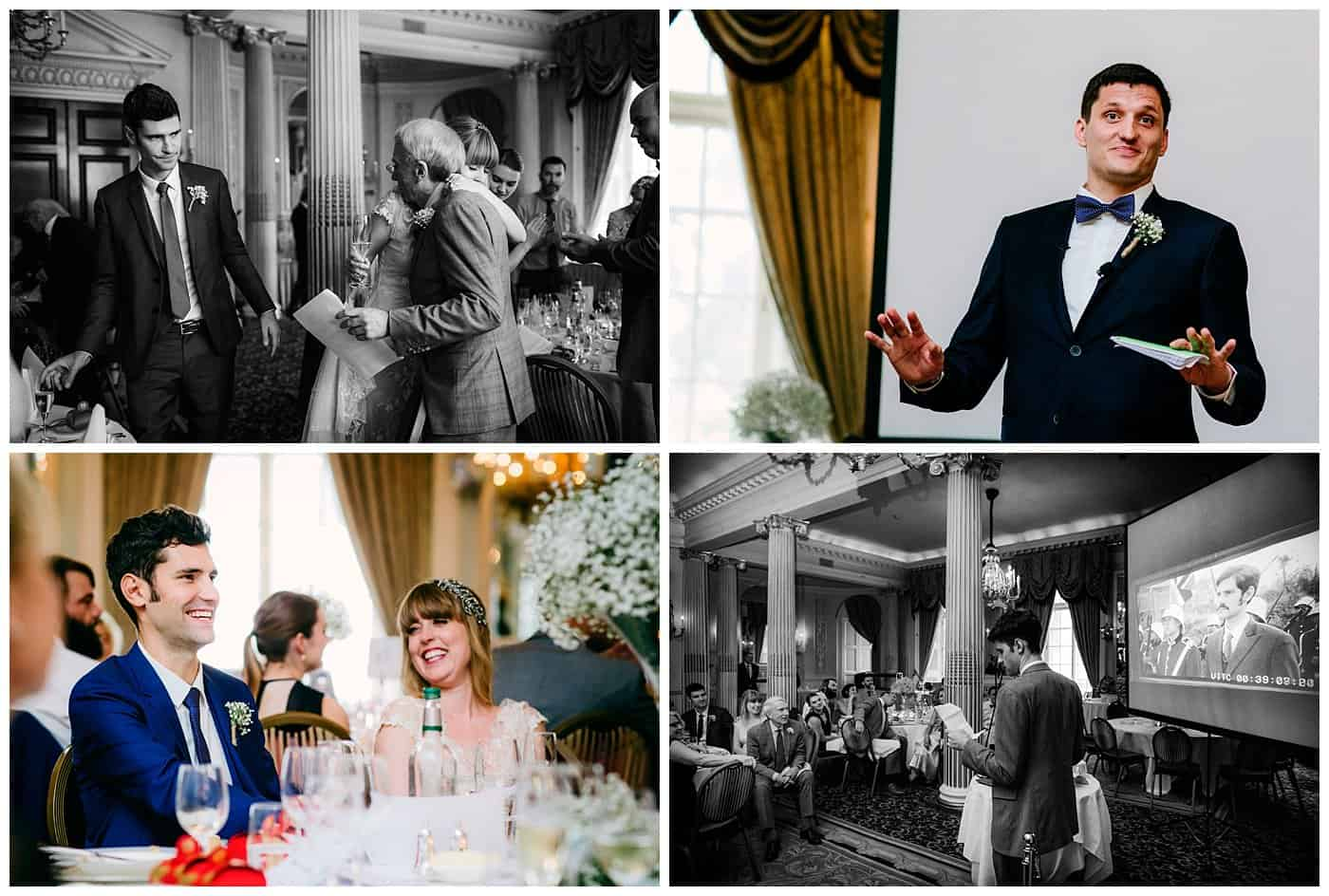 royal automobile club london documentary wedding photos