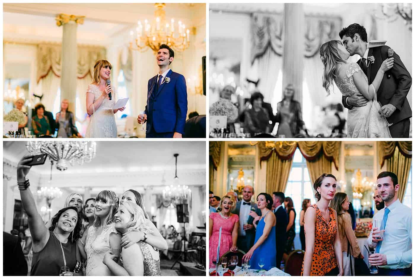 rac club relaxed wedding photos