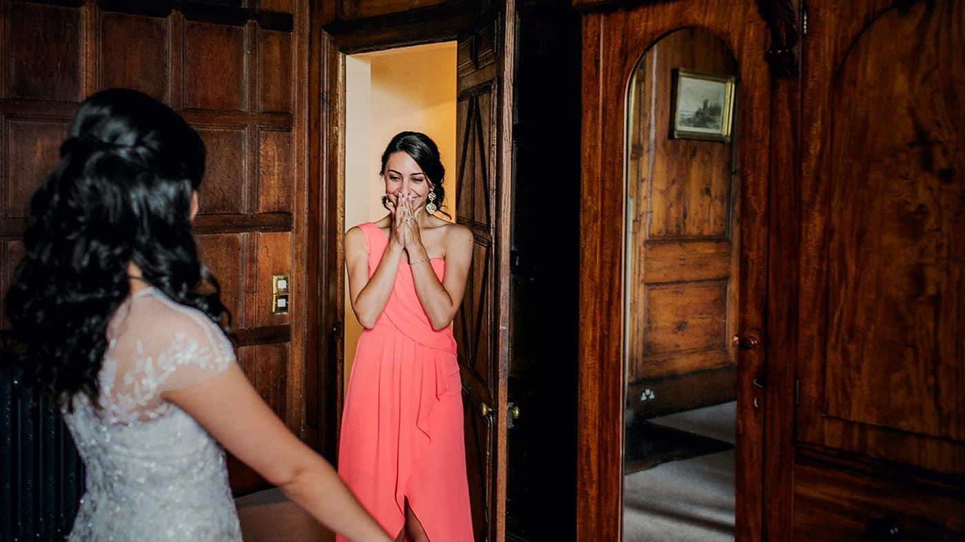 Bridesmaid Reaction