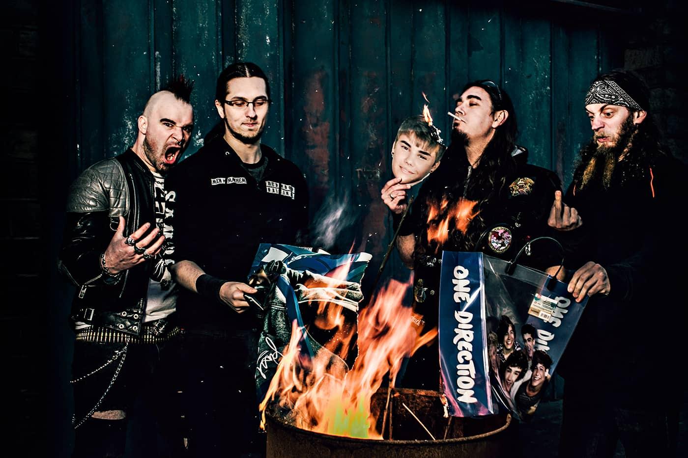 Evile band