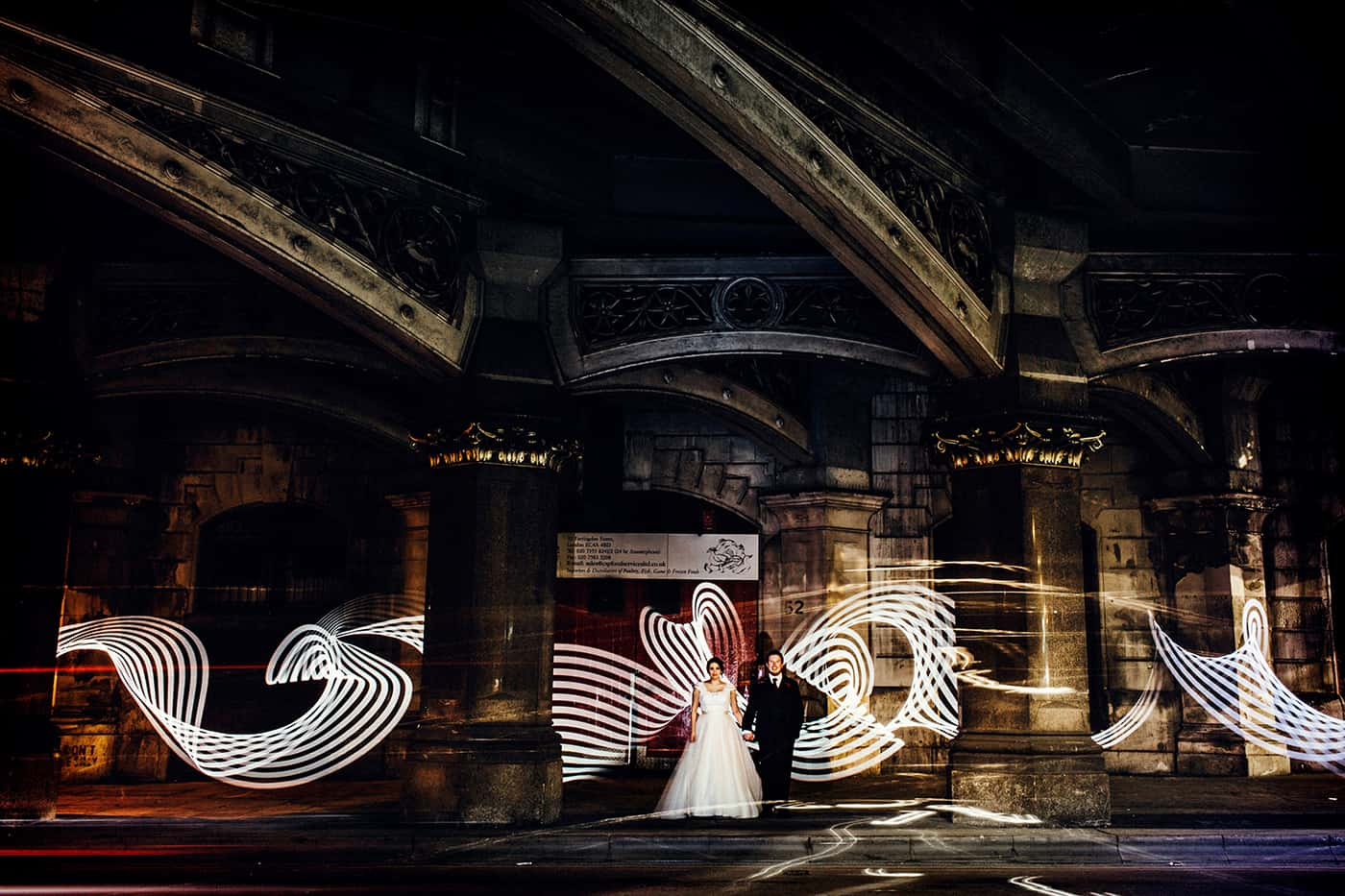 London light painting
