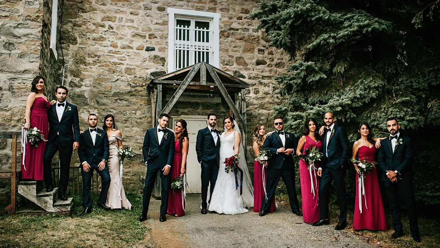 Montreal Bridal Party