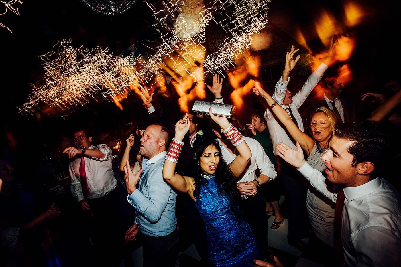 Wedding dancing photo