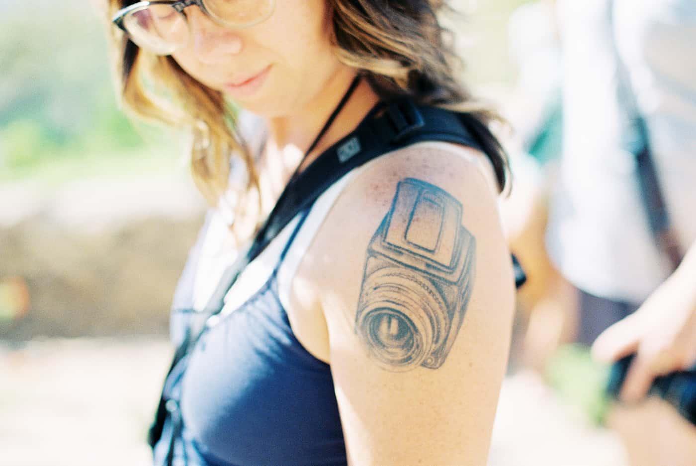 Camera tattoo film