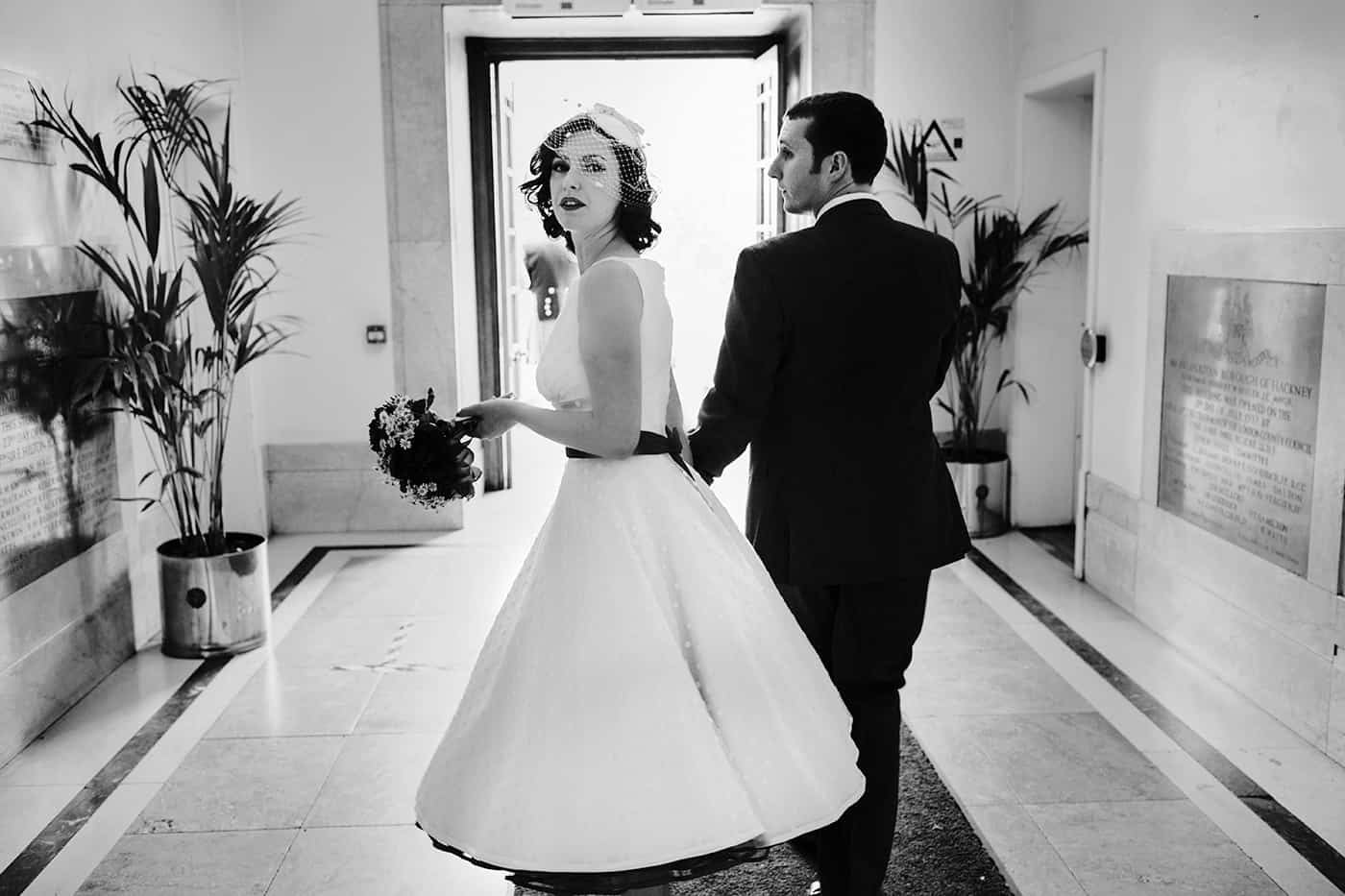 Hackney town hall wedding