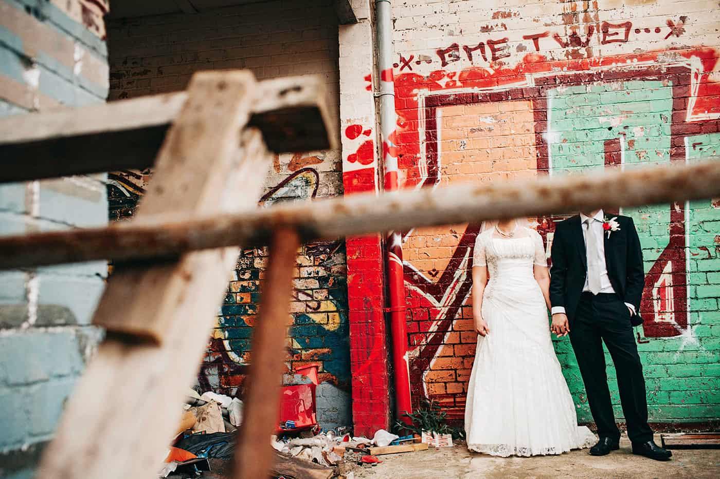 Quirky wedding photos birmingham