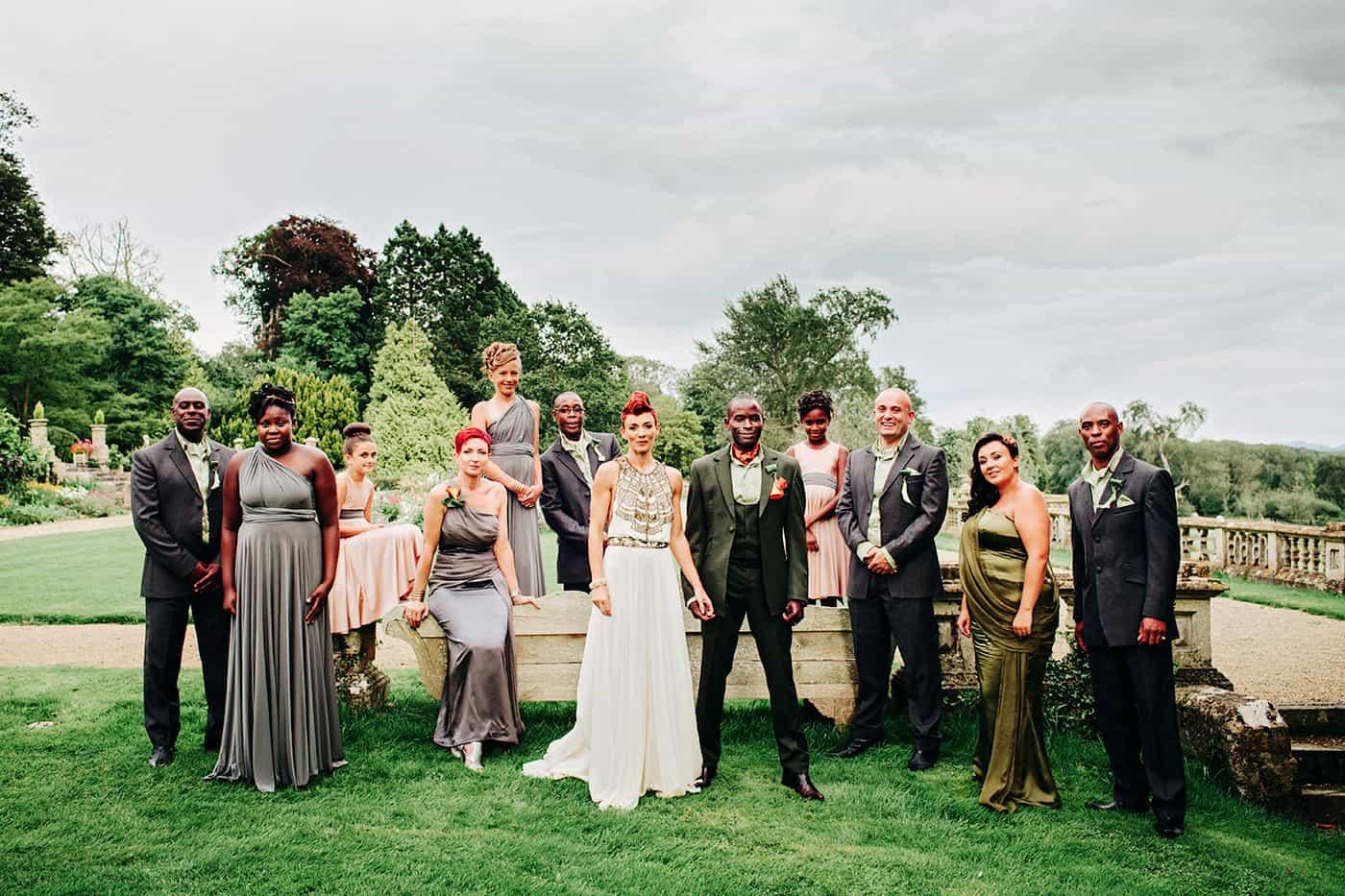 orchardleigh wedding photos