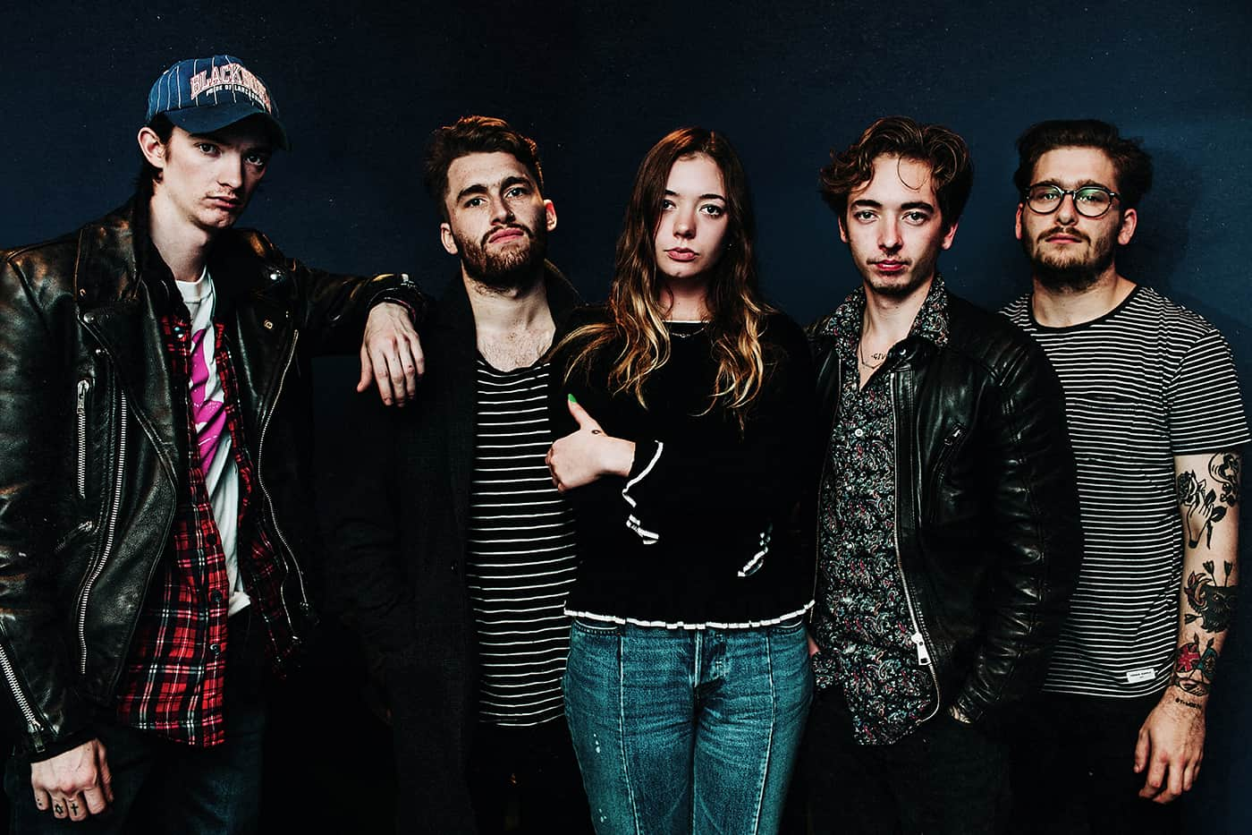 Marmozets band portrait