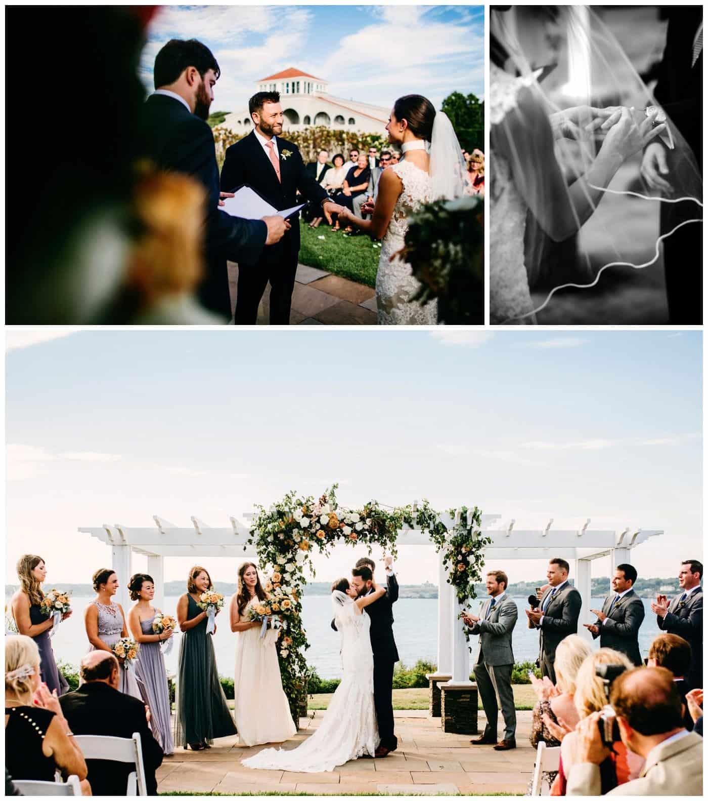 Oceancliff Newport Rhode Island Wedding Photography