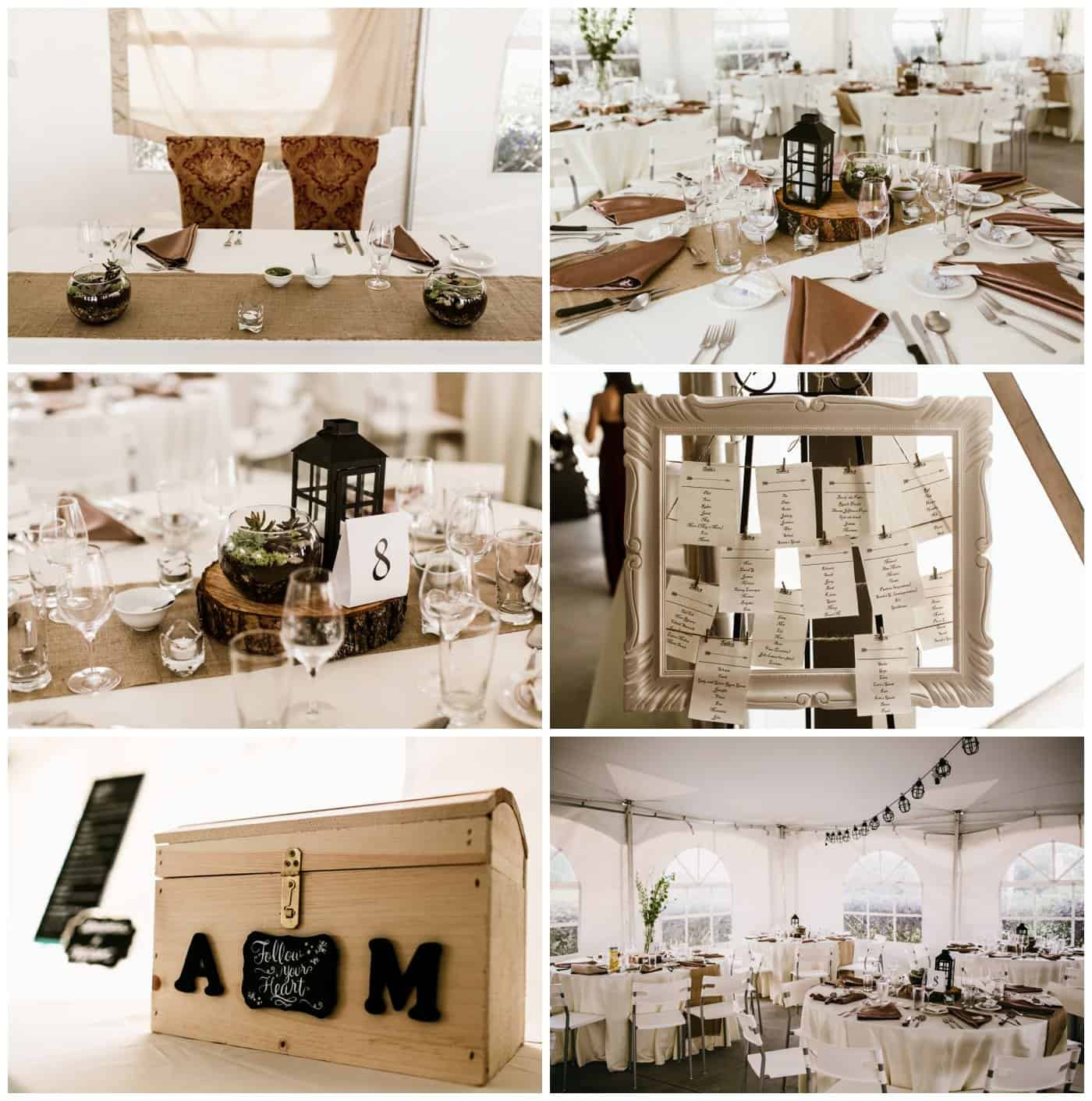 coteau rougemont wedding decor