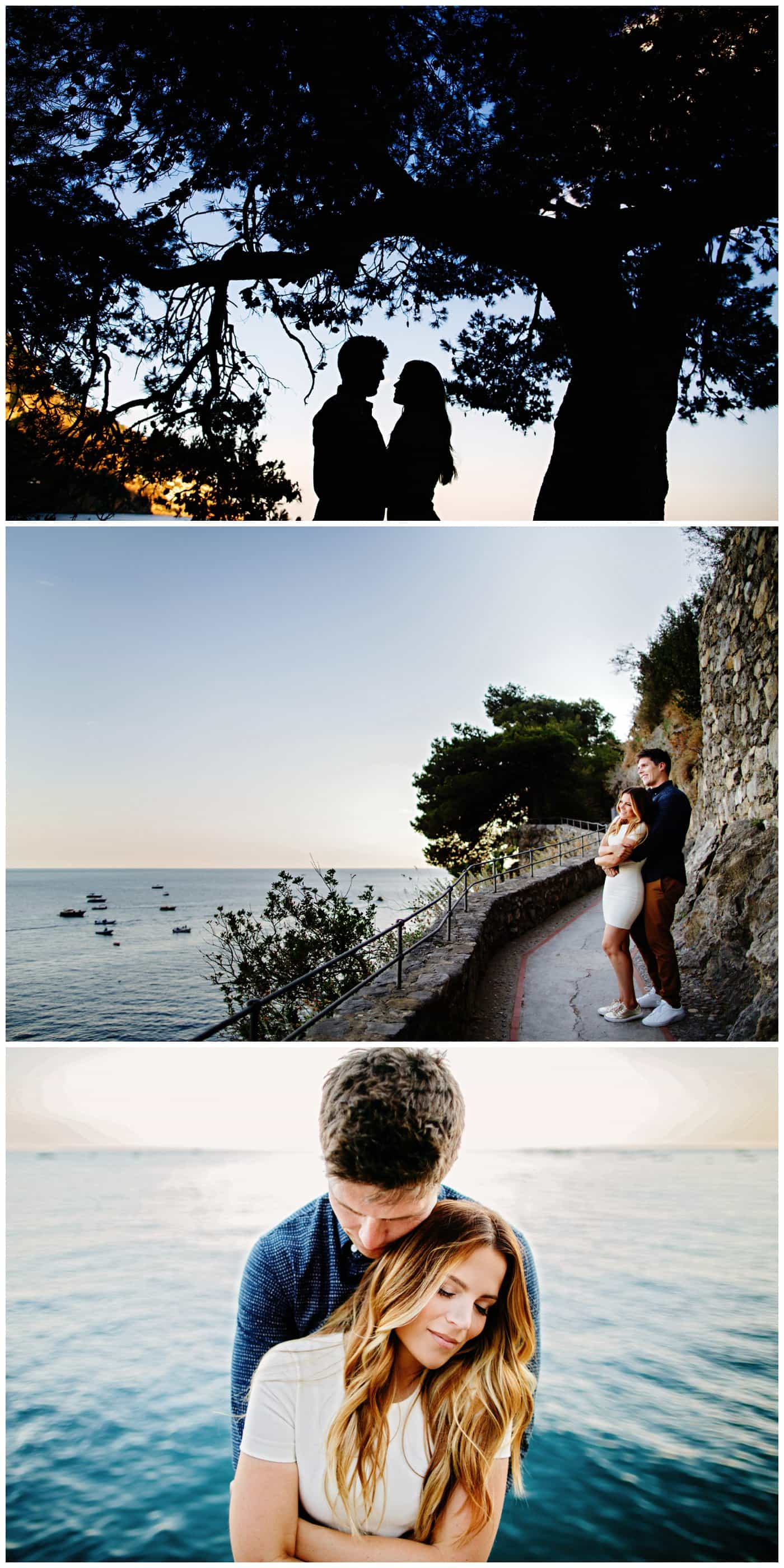 Positano Engagement photos