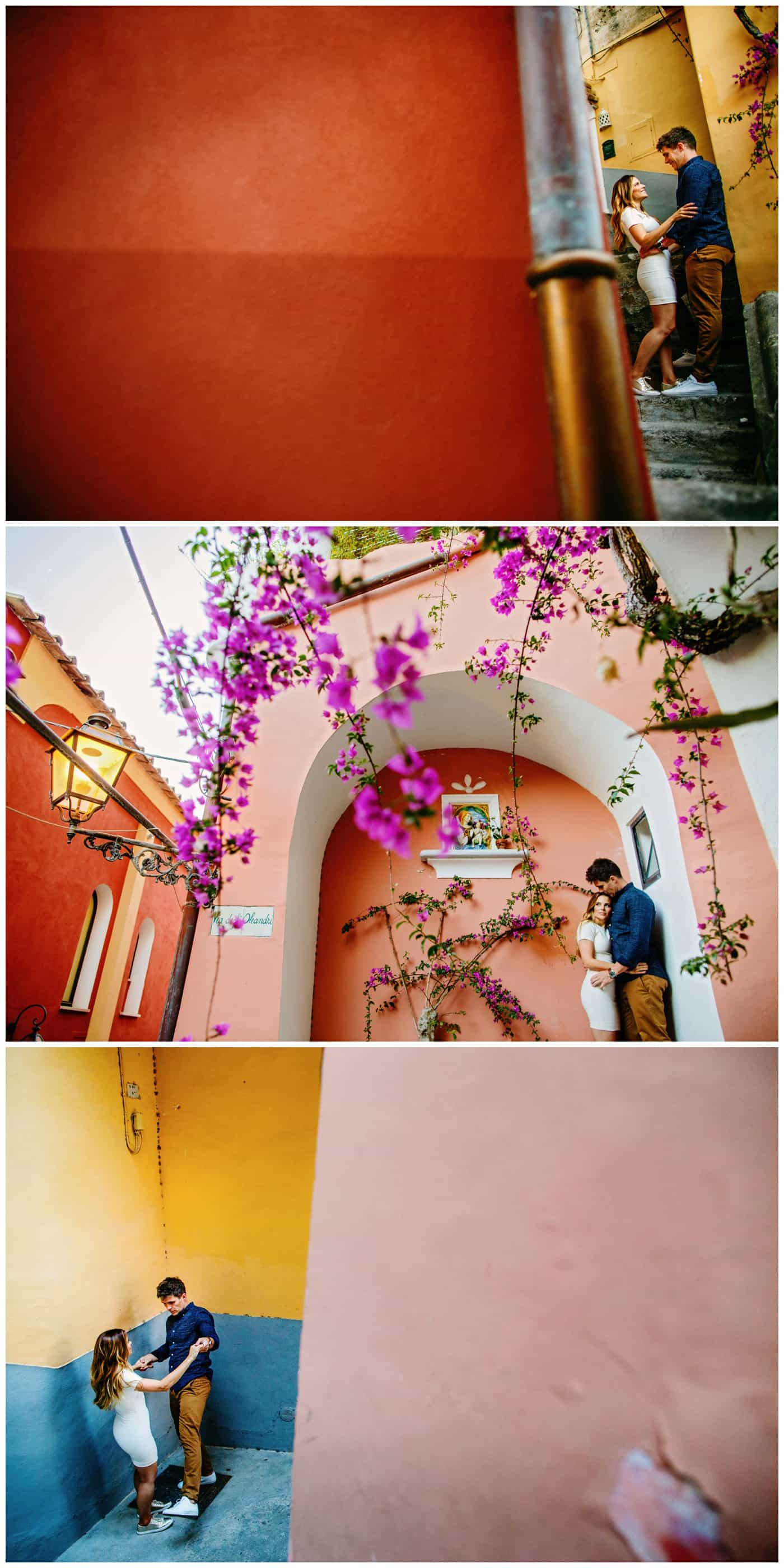Positano Pre-wedding Shoot