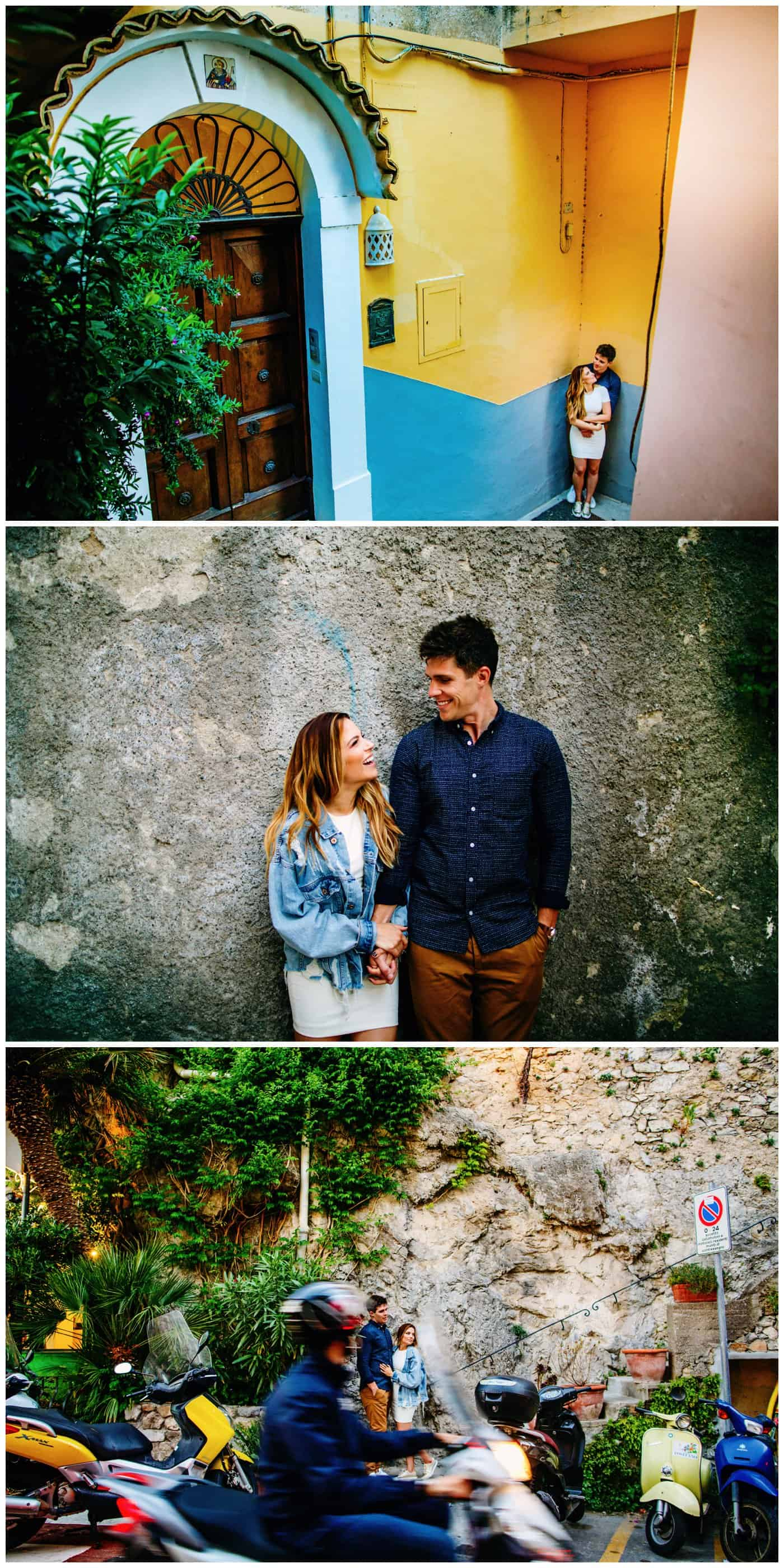 Amalfi Coast Engagement Shoot