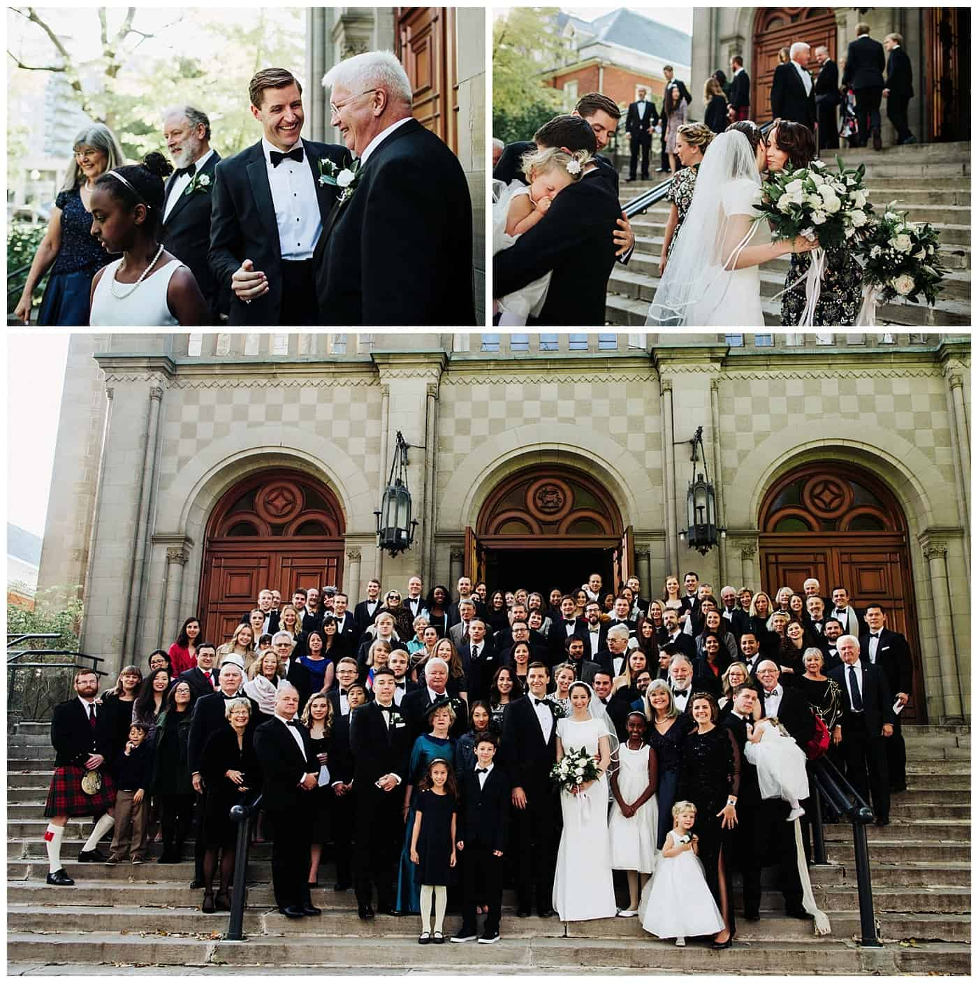 Church of Saint-Leon-De-Westmount wedding photos