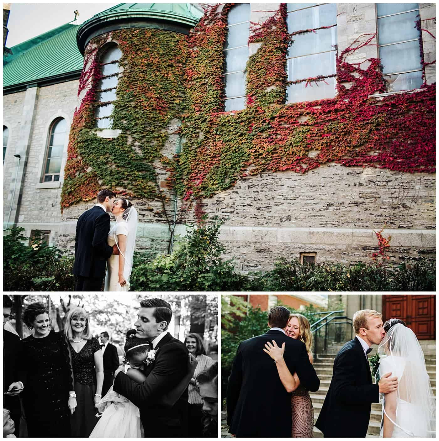 Church of Saint-Leon-De-Westmount wedding pictures