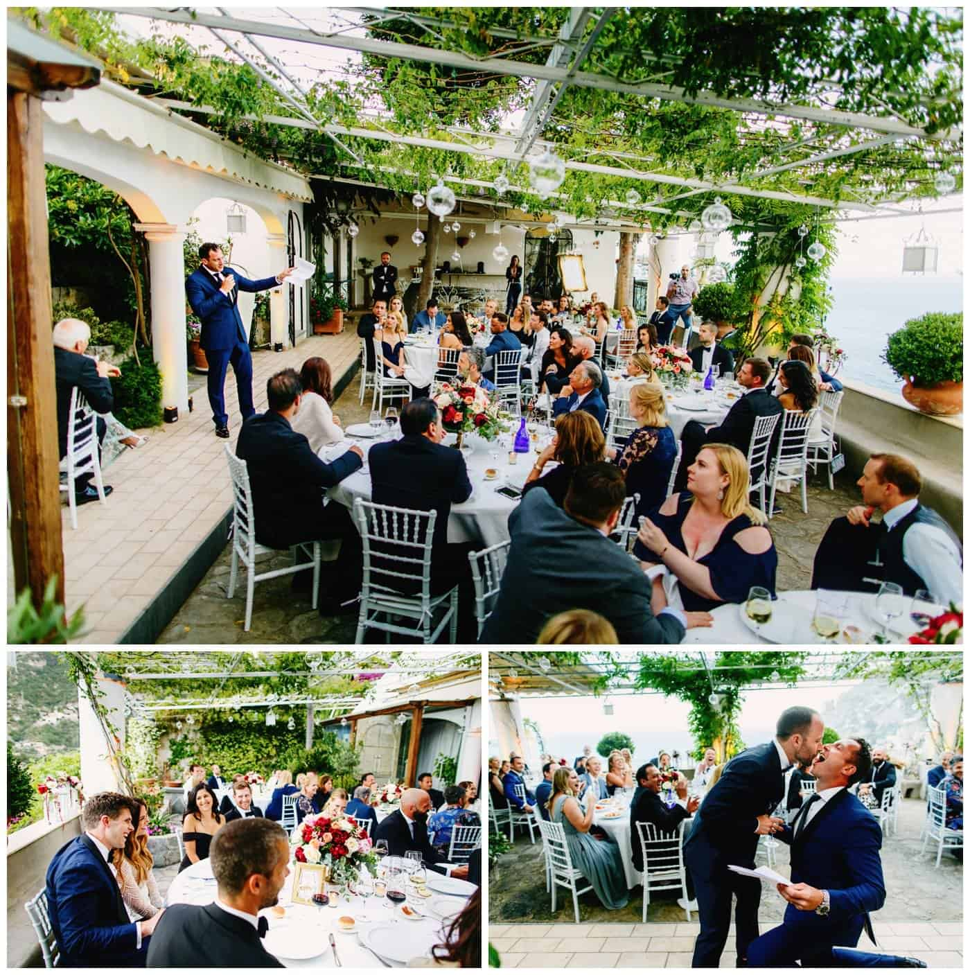 wedding reception venues positano