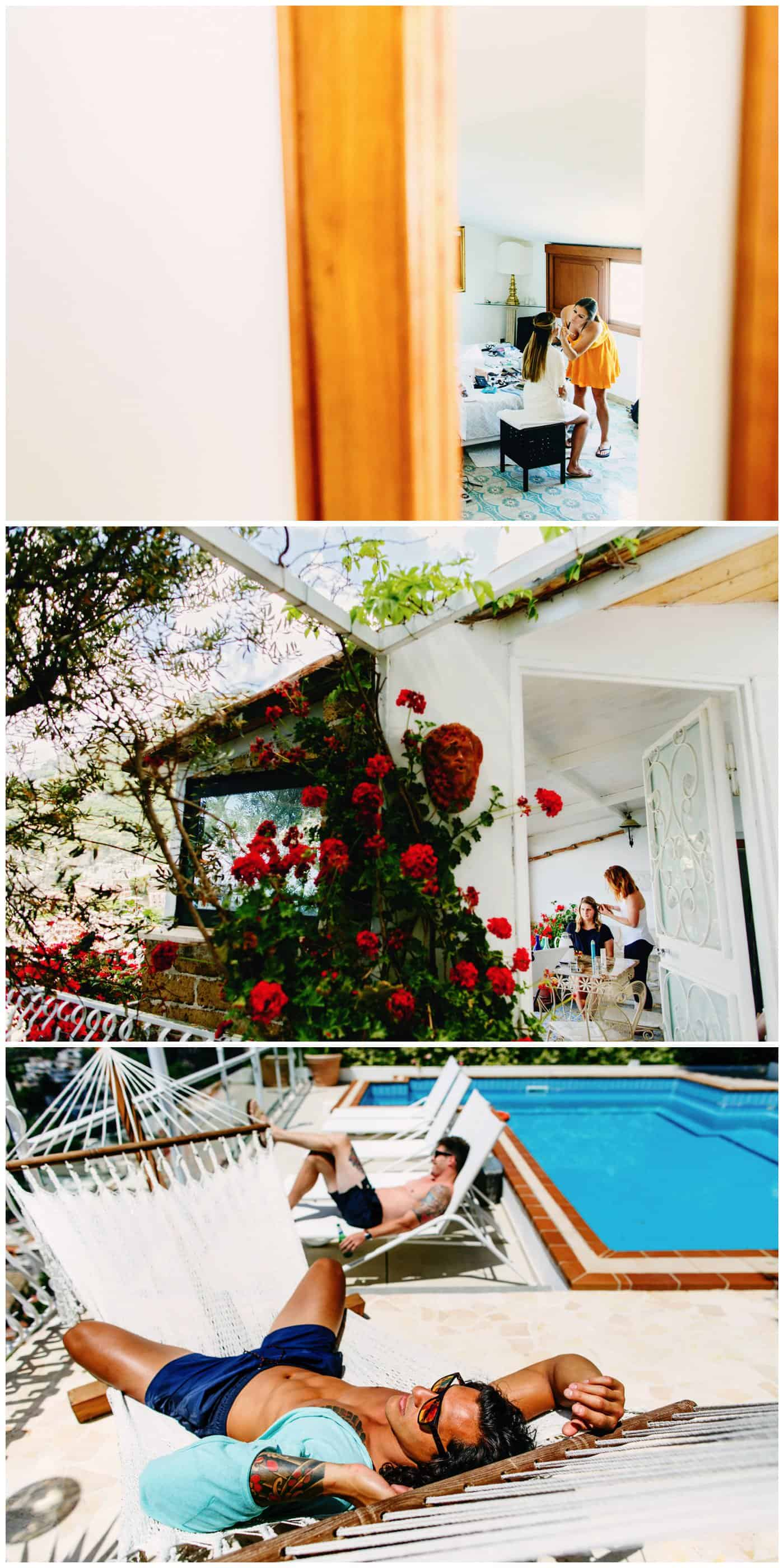 positano wedding villa