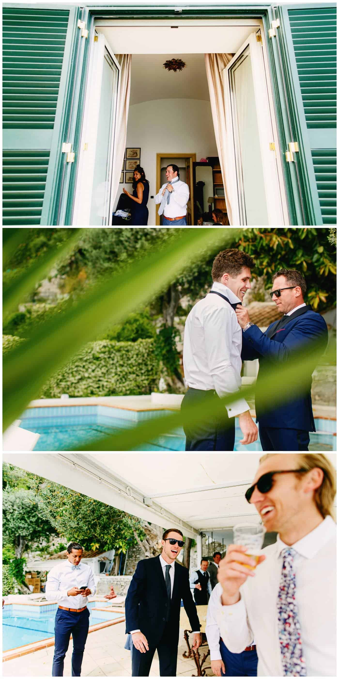 amalfi wedding villa