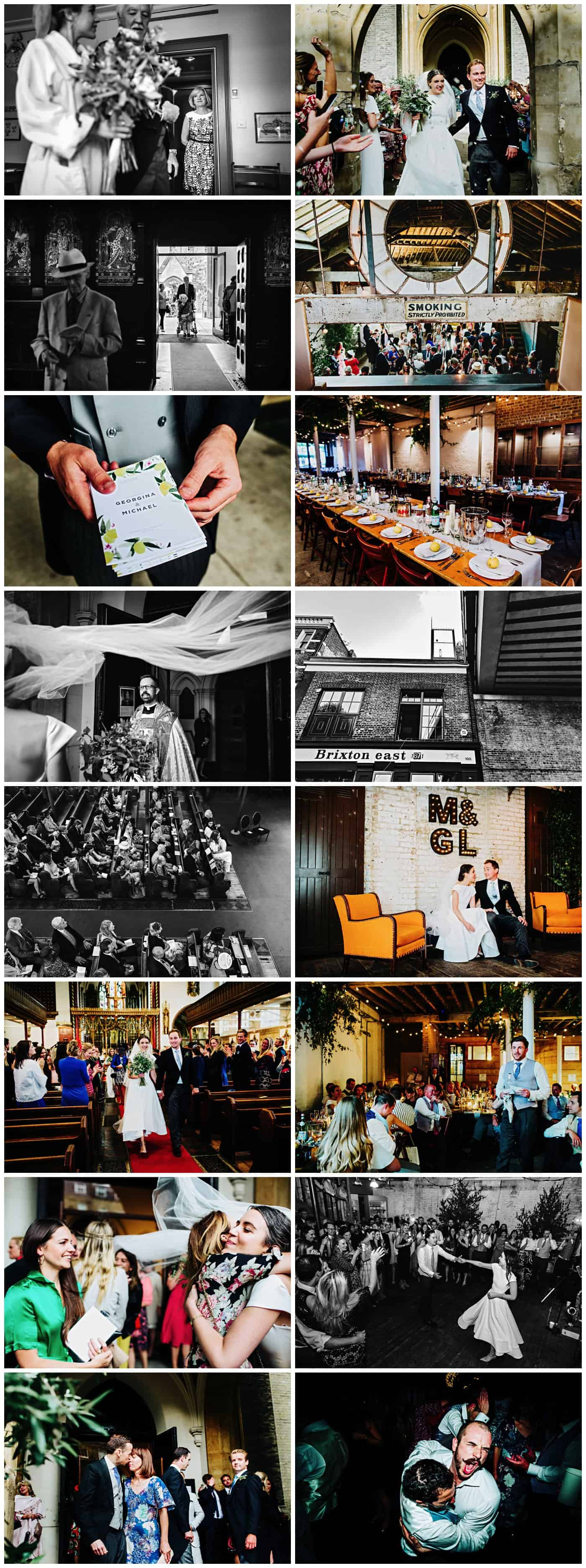 Brixton East 1871 wedding