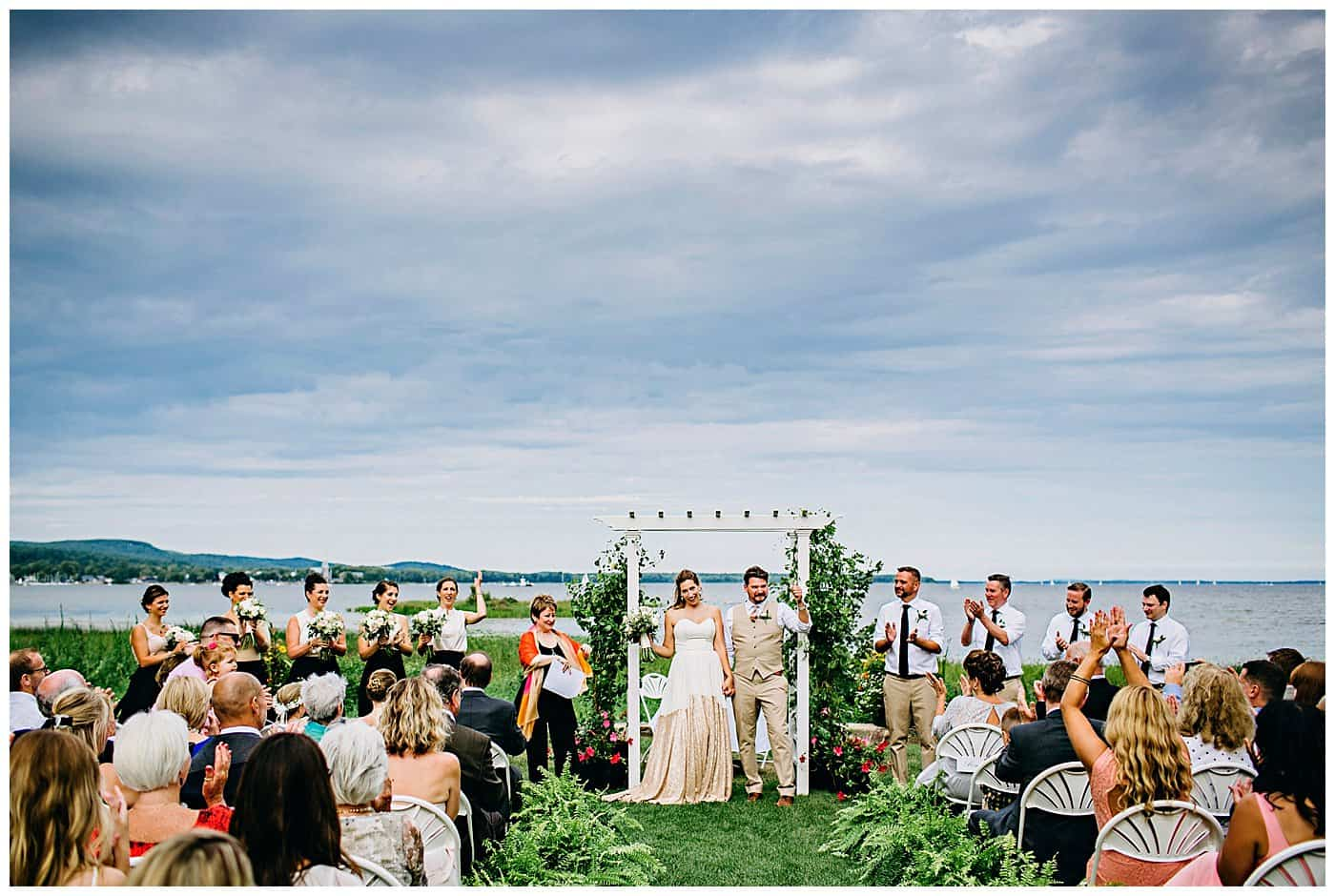 Willow Inn Hudson Wedding Photo