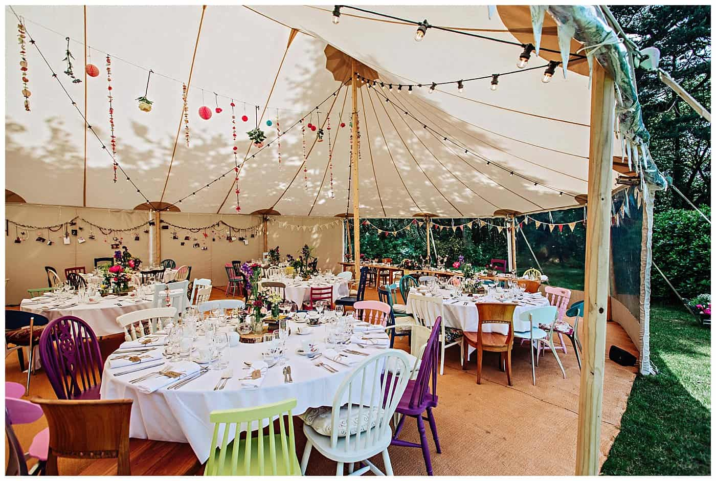 Woodthorpe Hall Wedding tipi