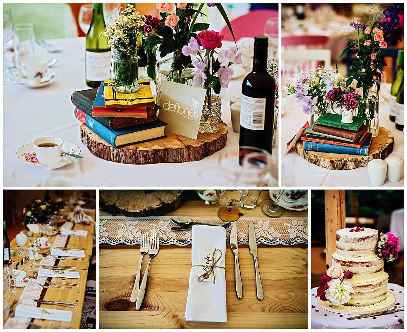 Woodthorpe Hall Wedding decor